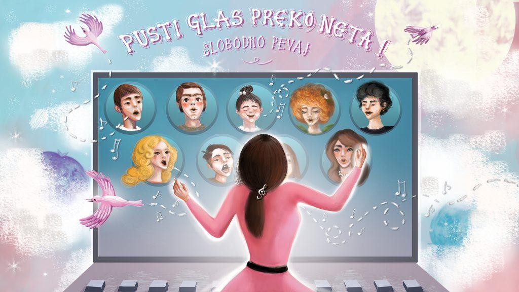 Pusti glas preko neta! - Online kurs pevanja Slobodno Pevaj